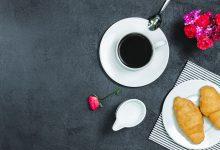 Šálek kávy k snídani