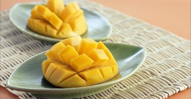 mango, talíř